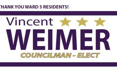 Thank You Ward 5 Residents!